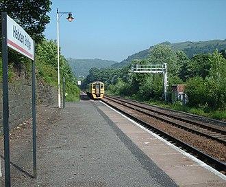 Hebden Bridge railway station - Image: Hebden Bridge 2