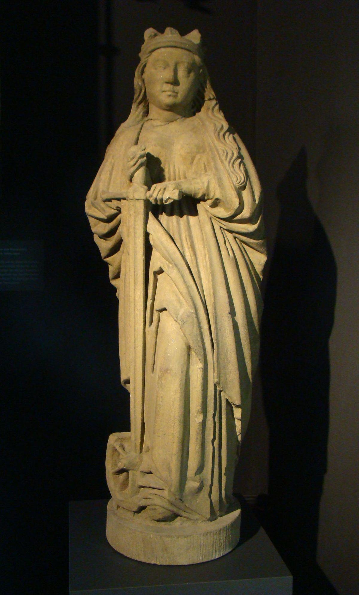 Skulptur der heiligen Katharina (Heilbronn) – Wikipedia