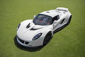 Hennessey Venom GT - Image: Hennessey Venom GT (16040233465)