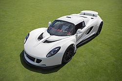 8. Hennessey Venom GT (2.7 seconds)