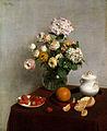 Henri Fantin-Latour - Flores de Verão e Frutos, 1866.jpg