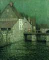 Henri Le Sidaner - Le Petit pont au crépuscule, Gisors - 1910 - 001.jpg