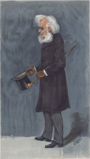 Henrik Ibsen - Ibsen caricatured by SNAPP for Vanity Fair, 1901