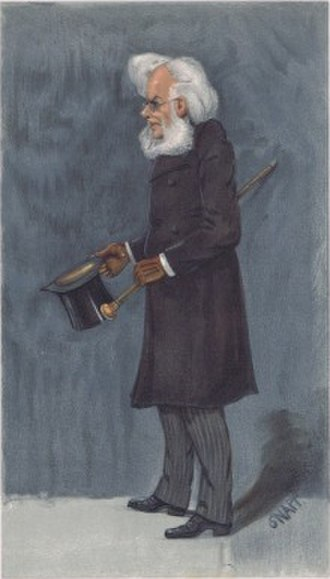 Henrik Ibsen - Ibsen caricatured by SNAPP for Vanity Fair, 1901