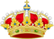 Heraldic Crown the Queen of Spain, Crown's arches differenced as consort.png