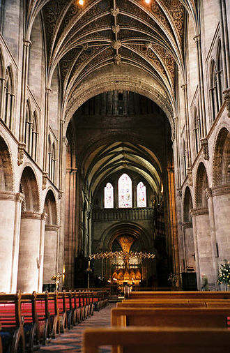 Church of England - Hereford is one of the church's 43 cathedrals; many have histories stretching back centuries