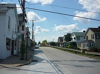 Sewickley Township, Westmoreland County, Pennsylvania - Sewickley Avenue in Herminie