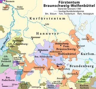 Principality of Brunswick-Wolfenbüttel Former German principality