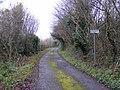 Hickmerelands Lane turns Private - geograph.org.uk - 1075610.jpg