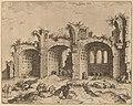 Hieronymus Cock, The Basilica of Constantine, probably 1550, NGA 91343.jpg