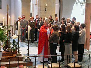 Hildesheim, Cathedral, Bishop Norbert Trelle, ...