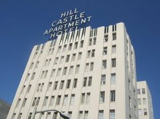 Lakeside Apartments District, Oakland, California - The Hill-Castle Apartment Hotel
