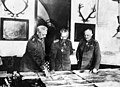 Hindenburg, Kaiser and Ludendorff planning the final drive.jpg
