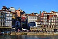 Historic buildings along the Douro River, Porto (26474231349).jpg