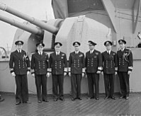 Hm the King Pays 4-day Visit To the Home Fleet. 18 To 21 March 1943, Scapa Flow, Wearing the Uniform of An Admiral of the Home Fleet the King Paid a 4-day Visit To the Home Fleet. A15175.jpg