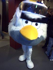 Hockey Bird, mascotte del campionato mondiale di hockey 2012