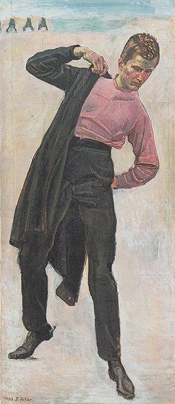 Hodler - Jenenser Student - 1908