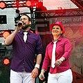 Holger Edmaier und Vanessa Maurischat - ColognePride 2011 (7457).jpg