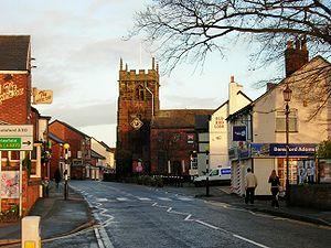 Holmes Chapel - Image: Holmes Chapel