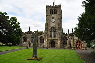 Kendal - Holy Trinity Church which includes the Parr Chapel and Prayers written by the hand of Queen Catherine Parr.