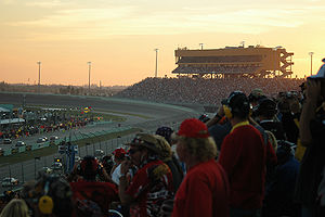 Homestead-Miami Speedway - Sunset at Homestead-Miami Speedway in 2006