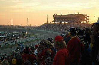Homestead–Miami Speedway - Sunset at Homestead–Miami Speedway in 2006