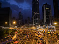 Hong Kong Umbrella Revolution -umbrellarevolution -UmbrellaMovement (15290762759).jpg