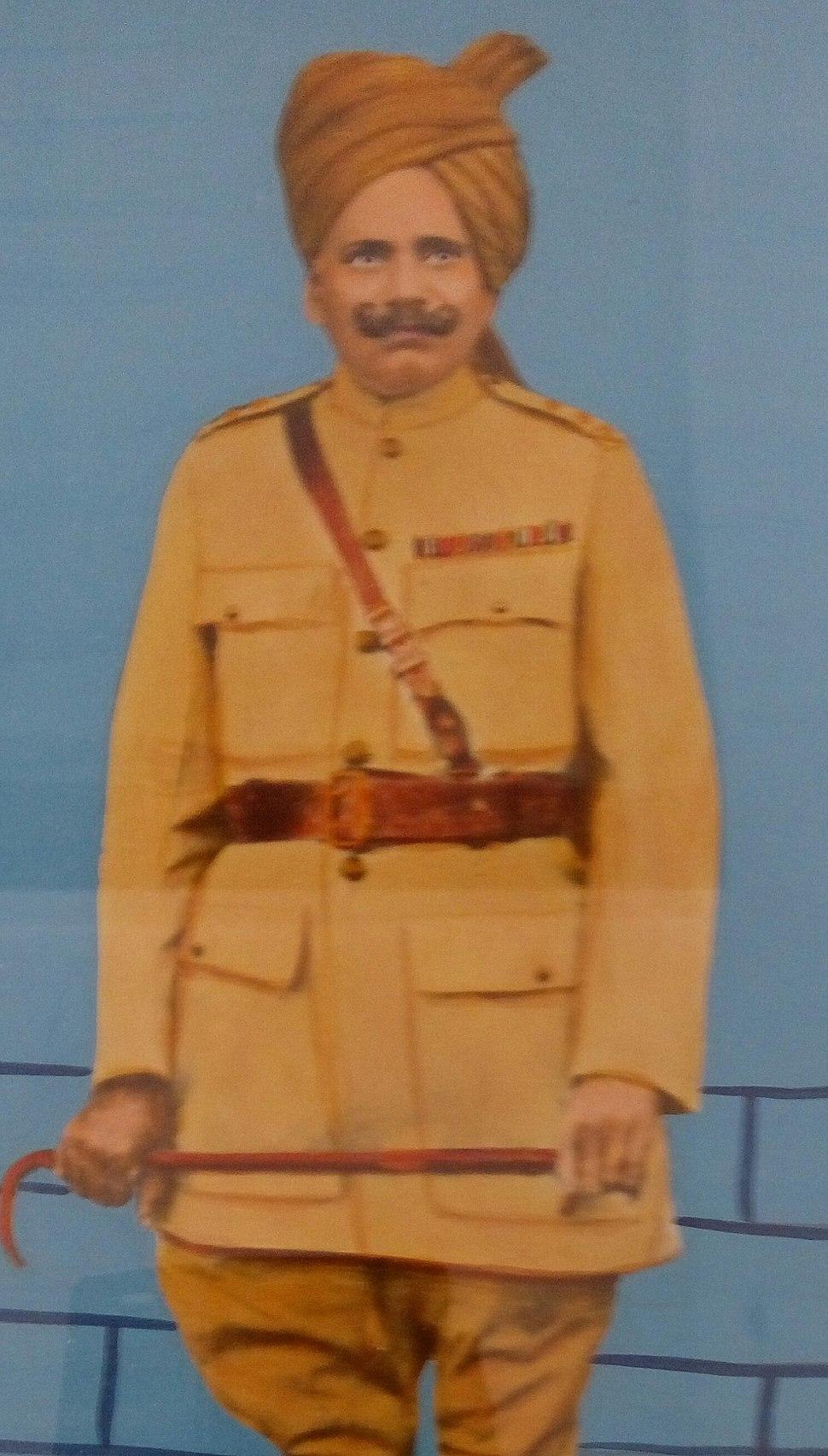 Honorary Captain Sardar Bahadur Rewat Singh Chandawat