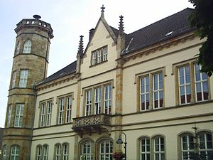 Horn-Bad Meinberg - The Town Hall of Horn-Bad Meinberg.