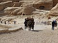 Horse cart on the road. Petra, Jordan.jpg