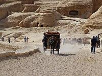 Horse cart on the road. Petra, Jordan.jpg