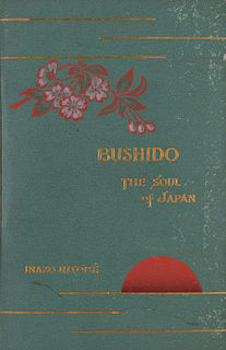<i>Bushido: The Soul of Japan</i> Book by Inazo Nitobe