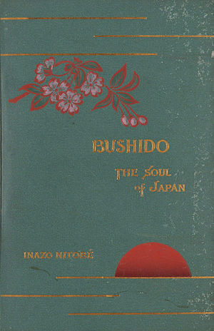Bushido: The Soul of Japan - Cover for Bushido: The Soul of Japan, 1900