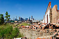 Houston Skyline, Demolition, Clinton at Jensen, Houston, Texas 1015111042 (6318985280).jpg