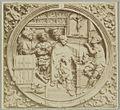 Houten paneel met reliëf sacrament van de biecht - Gouda - 20326349 - RCE.jpg