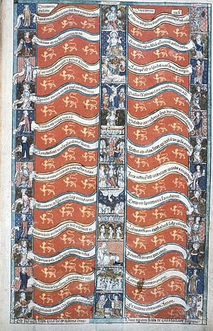 Howard Psalter and Hours - Image: Howard Psalter Fol 012Articles Of Faith