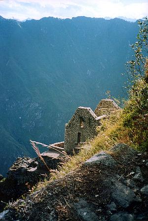 Huayna Picchu Building at top