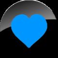 Human-emblem-favorite-black-blue-128.png