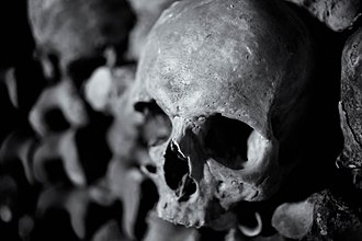 Death - The Human Skull is used universally as a symbol of death.