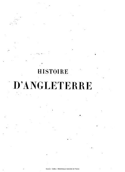 File:Hume - Histoire d'Angleterre par David Hume continuée jusqu'à nos jours par Smollett, Adolphus et Aikin, tome 10.djvu