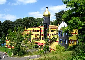 Ronald McDonald House Charities - Ronald McDonald House in Essen, Germany, designed by Friedensreich Hundertwasser