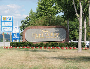 Hunt Valley, Maryland - Hunt Valley Business Park in Hunt Valley, Maryland