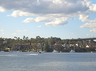 Huntleys Point, New South Wales - Image: Huntleys Point Parramatta River