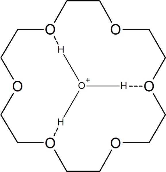 filehydronium complex with 18crown6png wikimedia commons