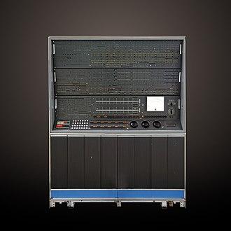 IBM 7030 Stretch - IBM 7030 maintenance console at the Musée des Arts et Métiers, Paris