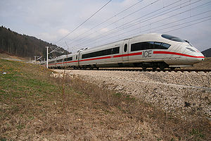 Siemens Velaro - Image: ICE3 Euerwangtunnel