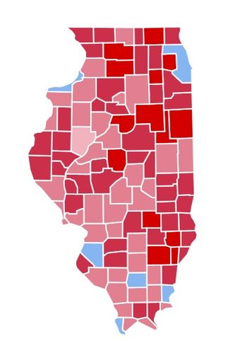 1984 United States presidential election in Illinois - Wikipedia
