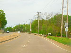 Illinois Route 29 - IL 29 north of Peoria
