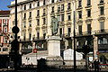 IMG 3063 - Milano - Monumento a Parini in P.za Cordusio - Foto G. Dall'Orto - 3-1-2007.jpg