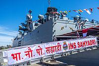 INS Sahyadri (F49) Open Day